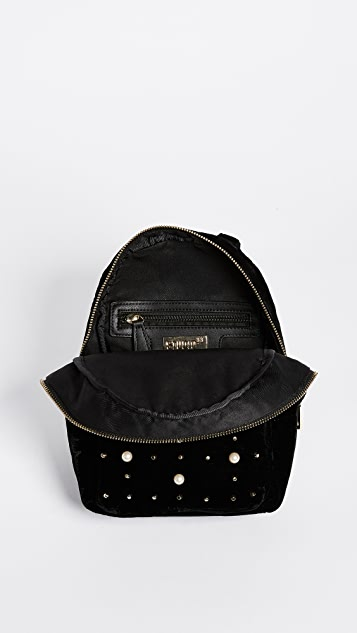 Studio 33 Imitation Pearl & Stud Mini Backpack
