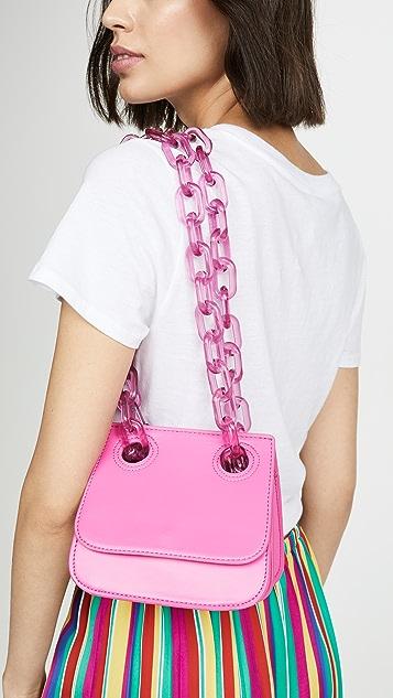 Studio 33 Woke Flap Shoulder Bag