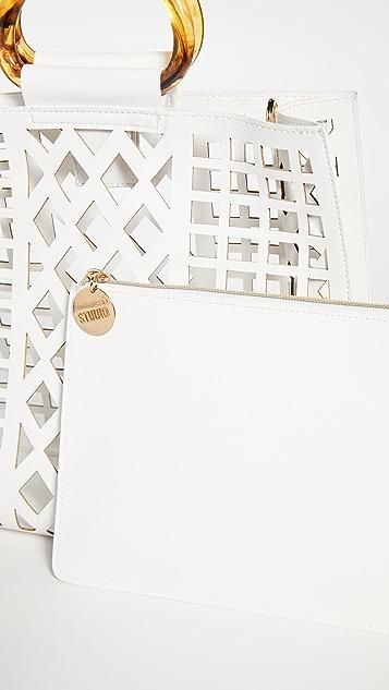 Studio33 Сумка-портфель She Slays с ручкой сверху