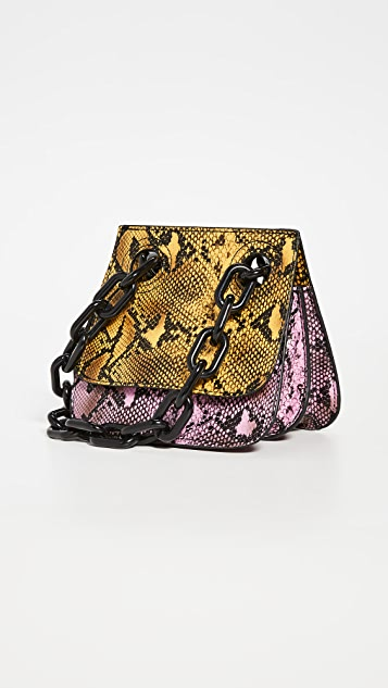 Studio 33 Woke Shoulder Flap Bag