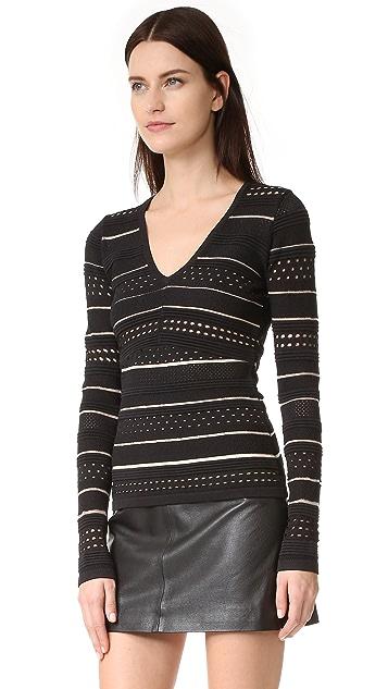Bailey44 Niki Bandage Knit Sweater