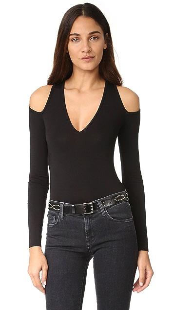 Bailey44 Patricia Thong Bodysuit - Black