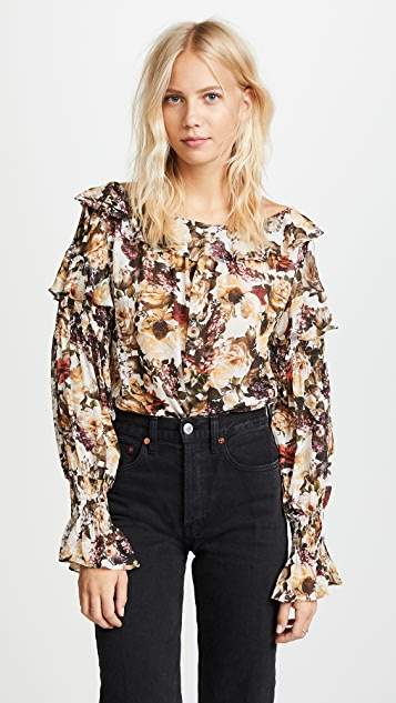 Bailey44 Once Upon A Time Top - Floral Print