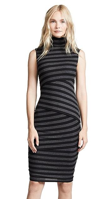 Bailey44 Pavlova Striped Bondage Dress