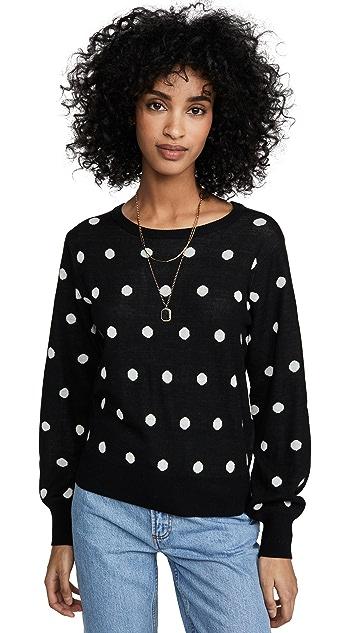 Bailey44 Addie Polka Dot Sweater