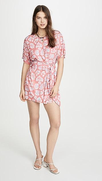 Baja East T 恤连衣裙