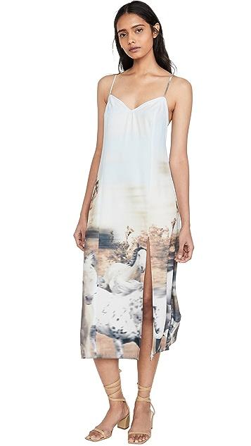 Baja East Slip Dress