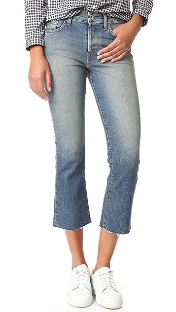 Baldwin Denim Maxwell Cropped Jeans