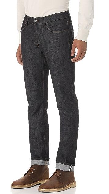 Baldwin Denim The Henley Slim Selvedge Jeans