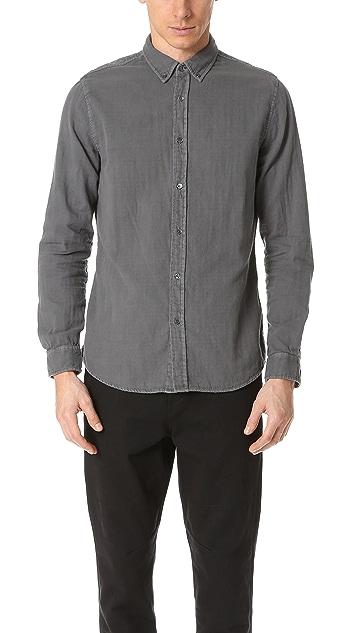 Baldwin Denim Otis Double Face Gauze Shirt