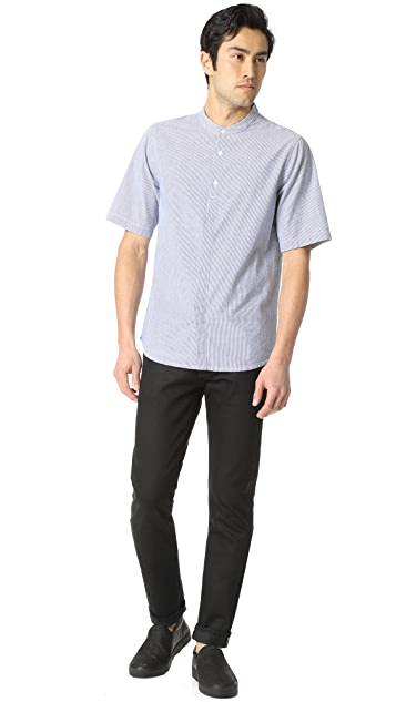 Baldwin Denim Freddy Half Sleeve Yarn Dyed Shirt