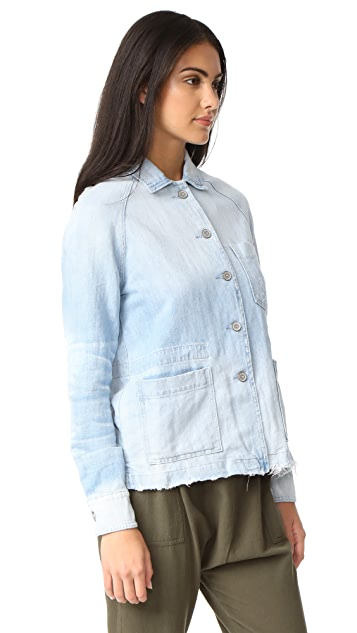 Baldwin Denim Renee Raglan Chore Jacket