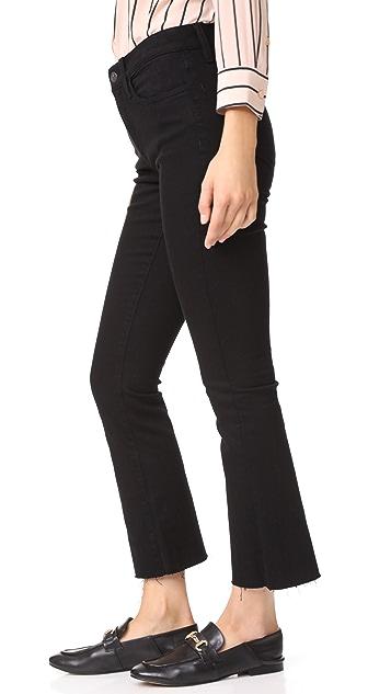 Baldwin Denim Maxwell Crop Flare Jeans
