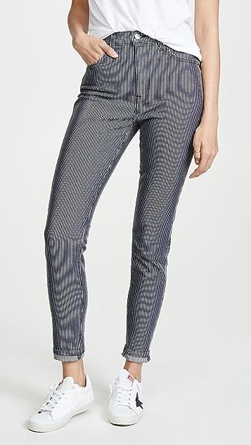 BLDWN Ultra High Rise Skinny Jeans