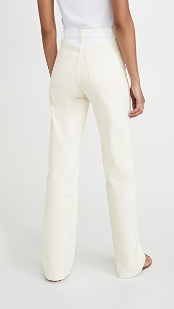 BLDWN High Rise Relaxed Jeans