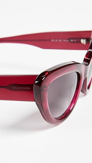 29293be24f51 Balenciaga Bold Cat Eye Sunglasses | SHOPBOP