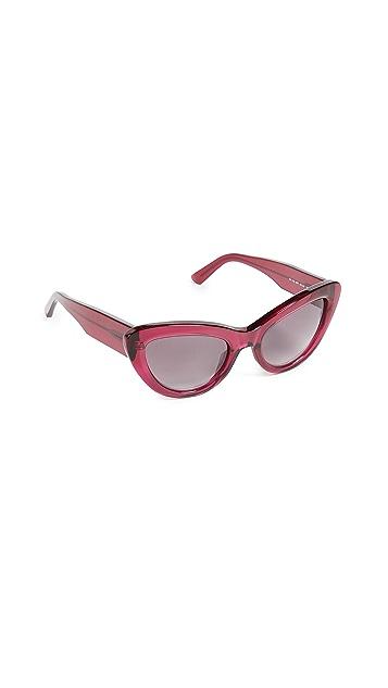 Balenciaga Bold Cat Eye Sunglasses