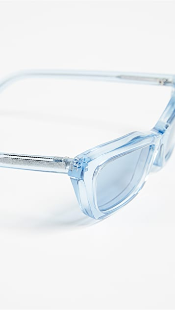 Balenciaga Transparent Sunglasses