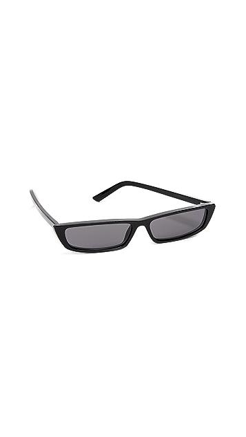 Balenciaga Narrow Square Sunglasses