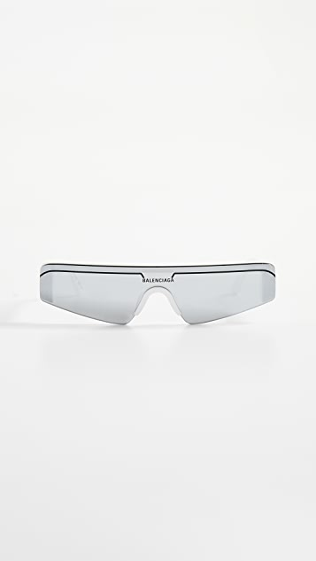 Balenciaga Ski Straight Sunglasses
