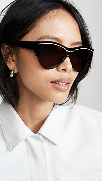 Balenciaga Ski Soft Sunglasses