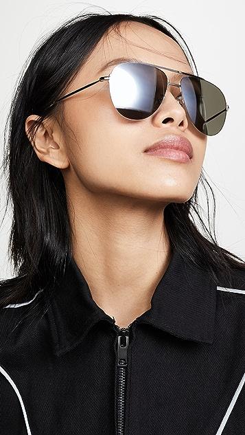 Balenciaga Солнцезащитные очки Naked Pilot