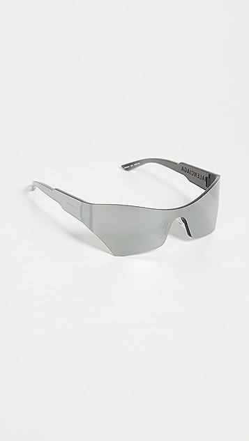 Balenciaga 单色未来主义太阳镜