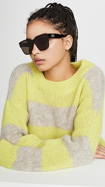 Balenciaga Flat Square Sunglasses