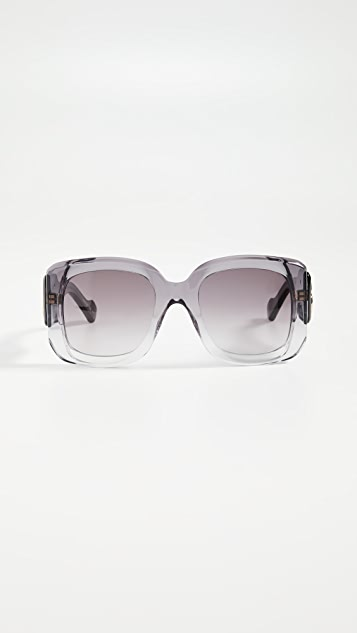 Balenciaga Квадратные солнцезащитные очки Paris