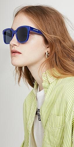 Balenciaga - Block Oversize Square Acetate Sunglasses