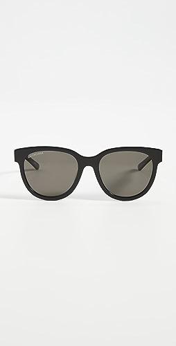 Balenciaga - Block Cateye Acetate Sunglasses