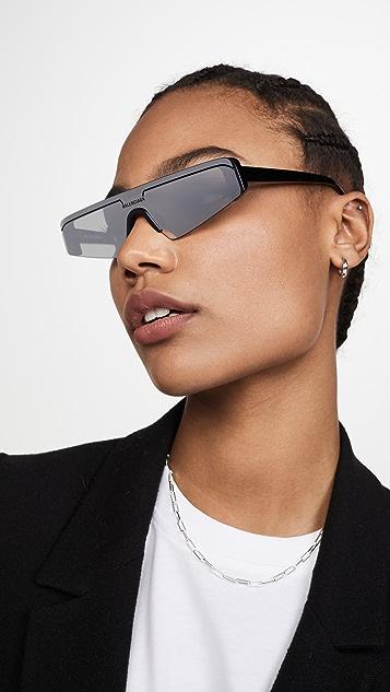 Balenciaga Extreme 窄款滑雪镜太阳镜