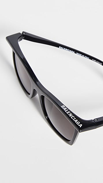 Balenciaga Rim Square Shape Sunglasses