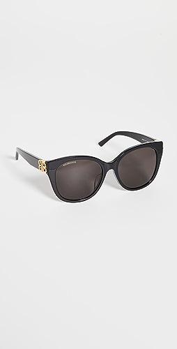 Balenciaga - Dynasty 复古猫眼太阳镜