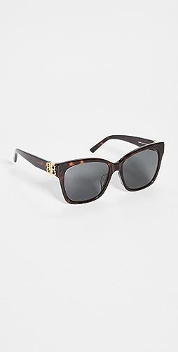 Balenciaga - Dynasty Vintage Square Sunglasses
