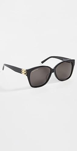 Balenciaga - Dynasty Square Sunglasses