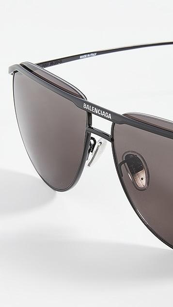 Balenciaga 经典飞行员太阳镜
