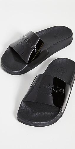 Balmain - 平底凉鞋
