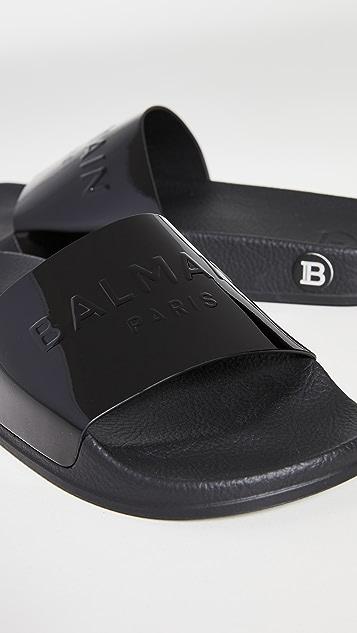 Balmain 平底凉鞋