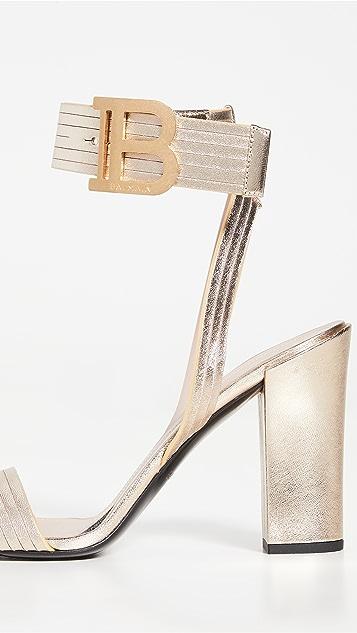 Balmain Stella 95mm Sandals