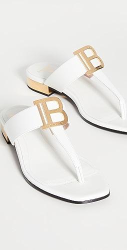 Balmain - Sophia Flat Sandals