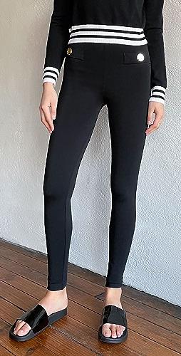 Balmain - Zipped Leggings