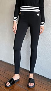 Balmain Zipped Leggings