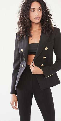 Balmain - Permanent 6 Button Wool Jacket