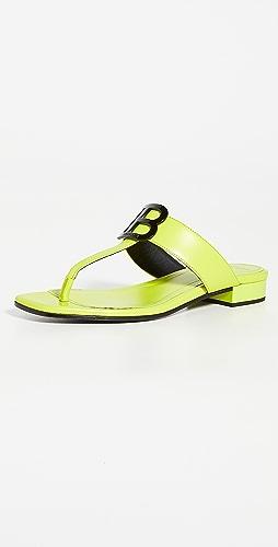 Balmain - Sofia Flat Sandals