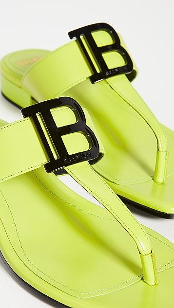 Balmain Sofia Flat Sandals