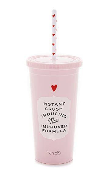 ban.do Love Potion Tumbler with Straw