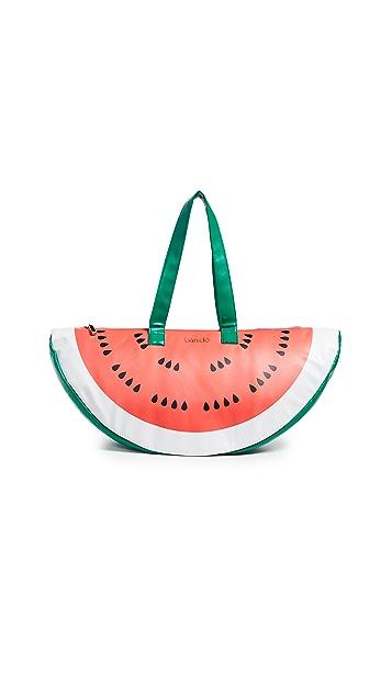 ban.do Сумка-холодильник Super Chill с изображением арбуза