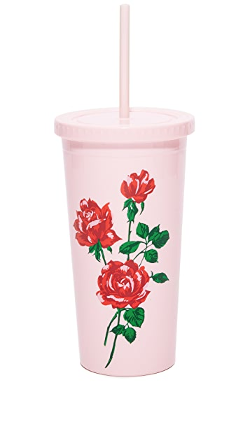 ban.do Will You Accept This Rose Tumbler