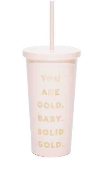 ban.do You Are Gold Tumbler